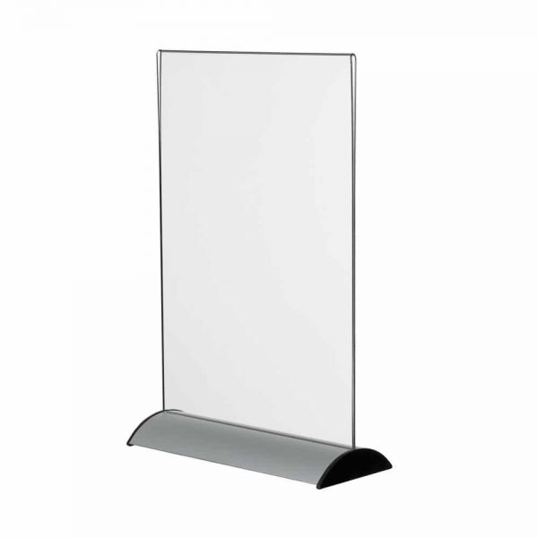 Plakatholder med aluminiumfot.